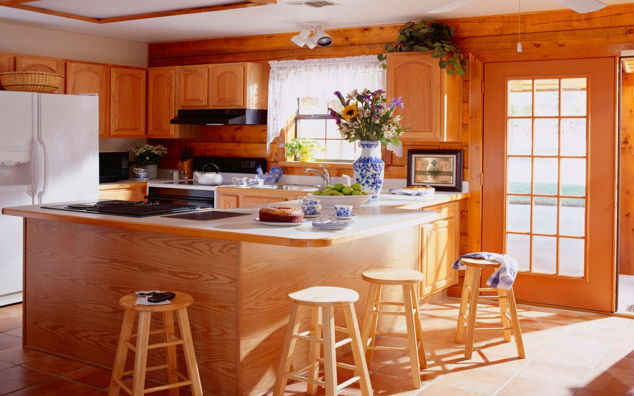 любимый дом на кухне