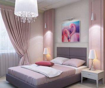 Спальня в новом цвете