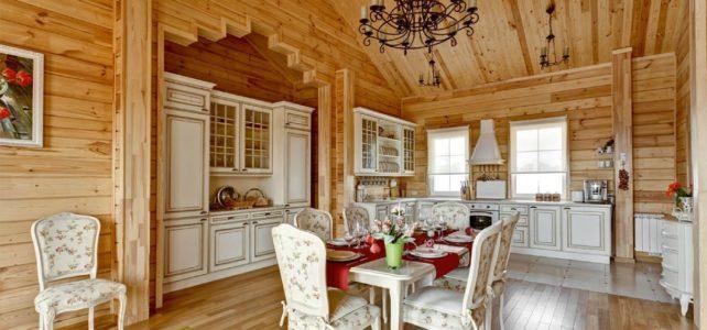 Русский деревенский стиль в интерьере