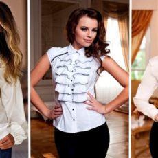 Женские блузки, модные тенденции 2019