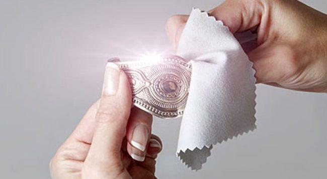 серебро-чистка