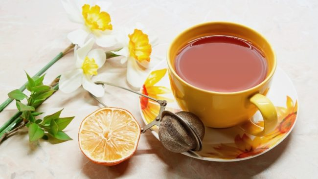 чай-и-лимон